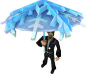 Snow parasol equipped.png