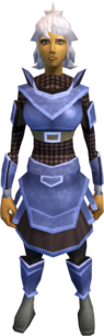 Argonite armour (light) equipped (female).png: Argonite plateskirt equipped by a player