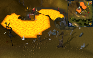 Compass clue Ardougne south of Ourania Runecrafting Altar entrance.png