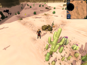 Scan clue Kharidian Desert south of Hunter training icon.png