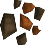 A detailed picture of copper ore