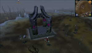 Emote clue Yawn near the Wilderness Bandit camp obelisk.png