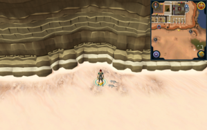 Scan clue Kharidian Desert south of Citharede Abbey.png