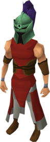 Adamant full helm (charged) equipped.png: Adamant full helm (charged) equipped by a player