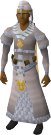 Armadyl robe outfit equipped (male).png: Armadyl stole equipped by a player