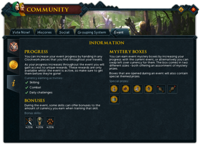 Community (Going Like Clockwork) interface information.png