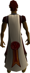Cape of Validation equipped.png: Cape of Validation equipped by a player