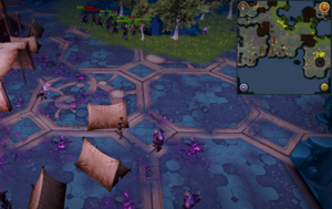 Scan clue Heart of Gielinor south-east of slope to Vindicta.png
