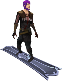 Snowboard (tier 3) equipped.png: Snowboard (tier 3) equipped by a player