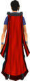 Battlefield cape (red) equipped.png