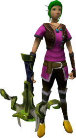Eldritch crossbow (barrows) equipped.png: Augmented Eldritch crossbow (barrows) equipped by a player