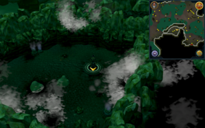 Scan clue Lumbridge Swamp Caves north-west of Tears of Guthix Cavern entrance.png