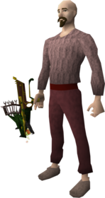 Serpentine 2h crossbow equipped.png: Serpentine 2h crossbow equipped by a player