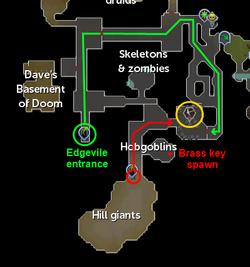 Edgeville dungeon mine - The RuneScape Wiki