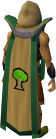 Retro woodcutting cape (t) equipped.png: Woodcutting cape (t) equipped by a player