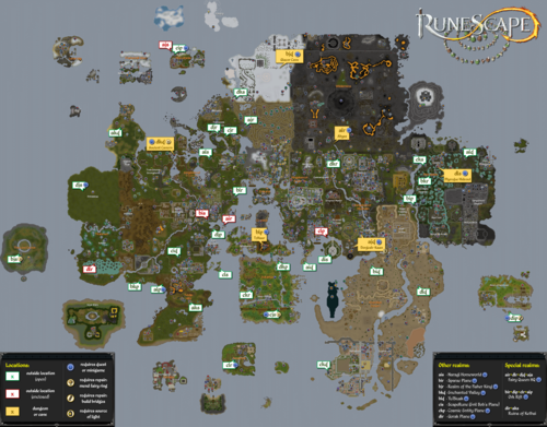 Fairy Ring Map Fairy ring   The RuneScape Wiki