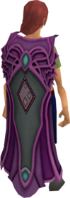 Clan Trahaearn cape equipped.png: Clan Trahaearn cape equipped by a player