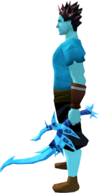 Off-hand drygore longsword (ice) equipped.png: Augmented off-hand drygore longsword (ice) equipped by a player