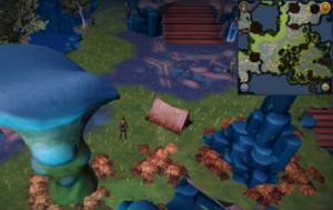 Scan clue Heart of Gielinor west of slope to Helwyr area.png